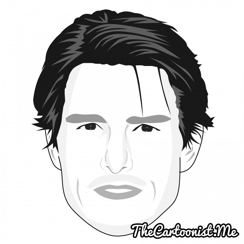 Tom Cruise par TheCartoonist